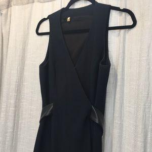 Anthropologie faux wrap dress